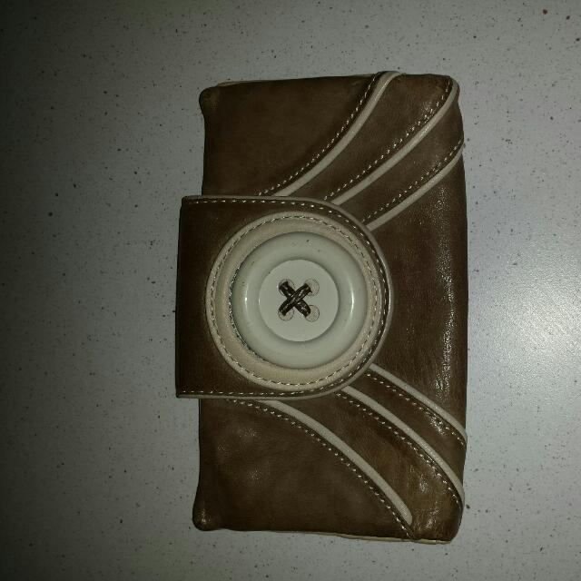 Authentic Mimco Big Button Wallet