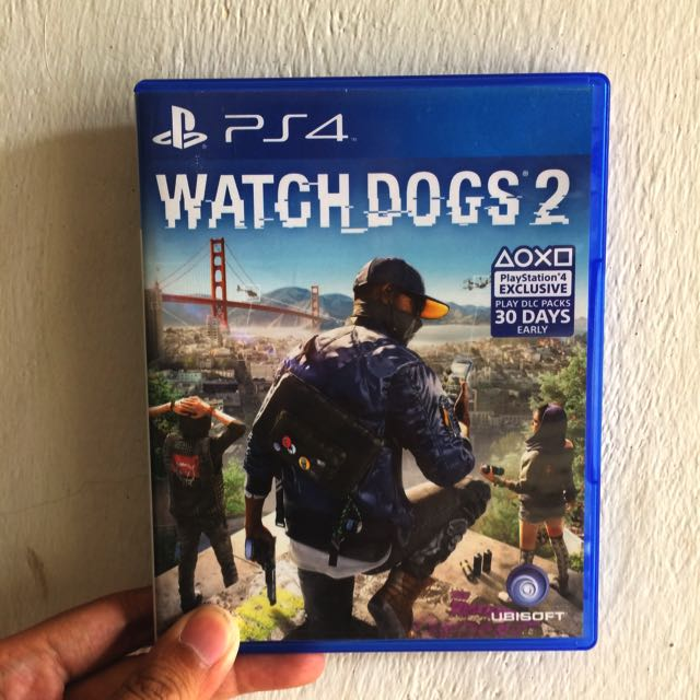 BD Kaset PS 4 Watch Dogs 2 SOLD OUT