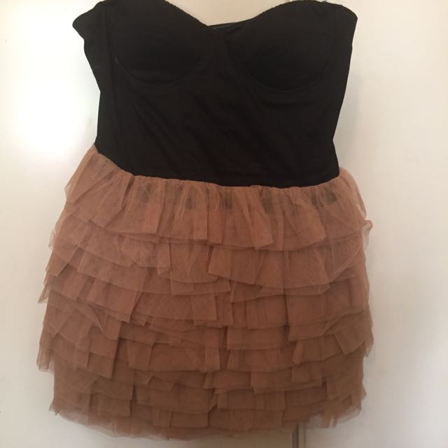 Bebe Sydney Tutu Dress Size 10