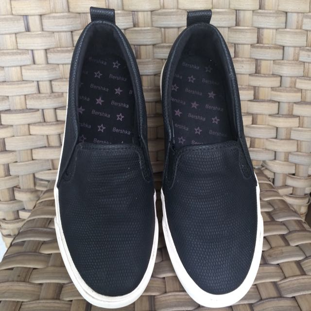 Bershka Black Slip On