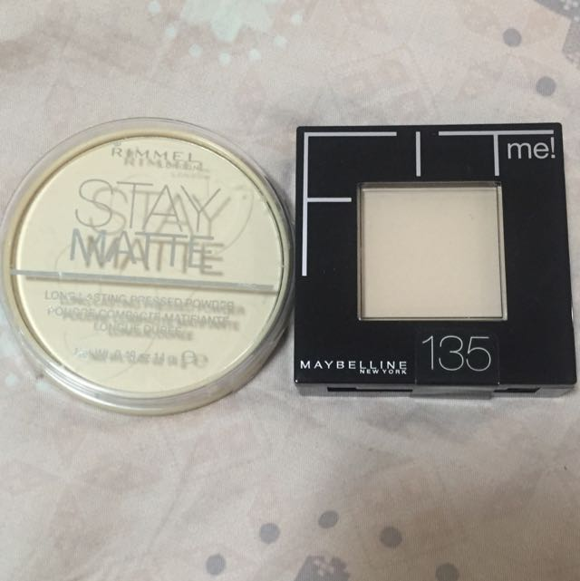BNIB Rimmel/Maybelline Matte Press Powder