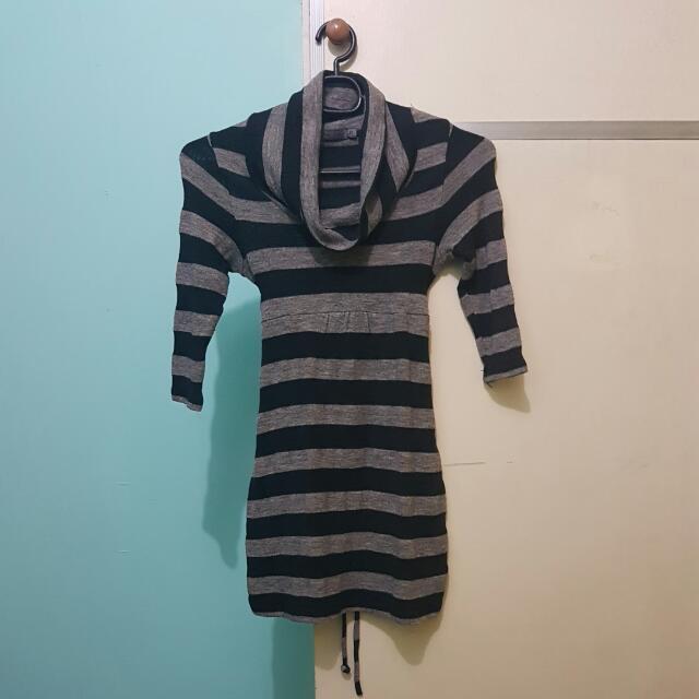 BNY Ladies Turtle Neck Shirt Dress