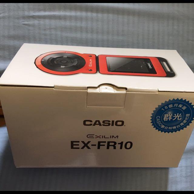 Casio Ex-fr10運動相機(白)