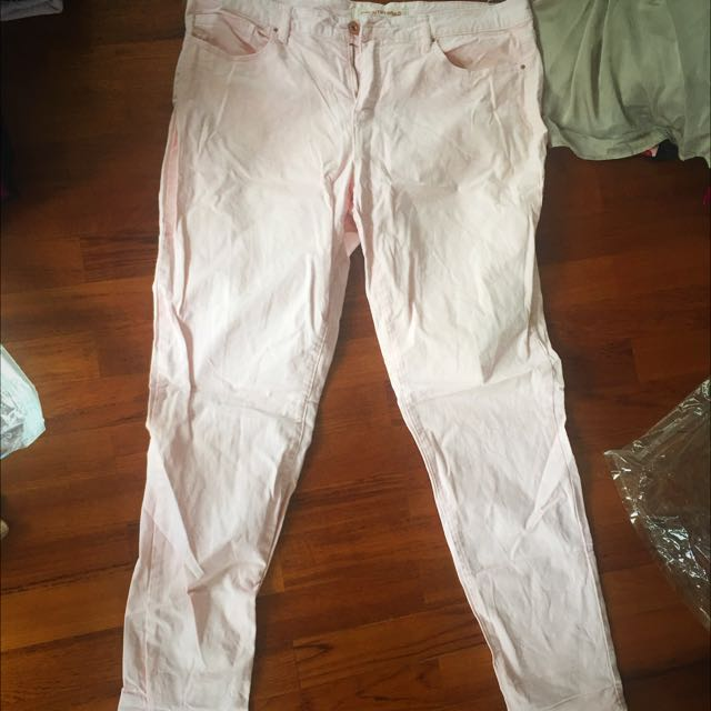 Country Road Pink Skinny Pants Size 16