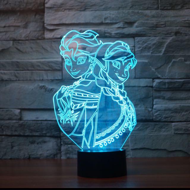 Disney Led 3D Lights