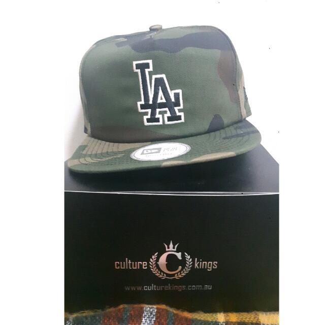 Dodgers Camo Cap