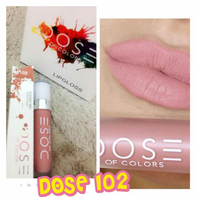 Dose Of Colors Lipstick (102)
