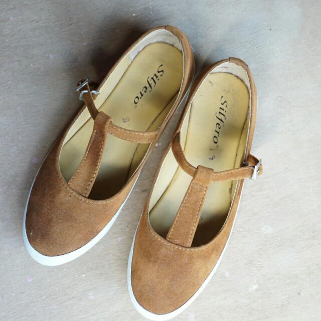 Flatshoes Brown