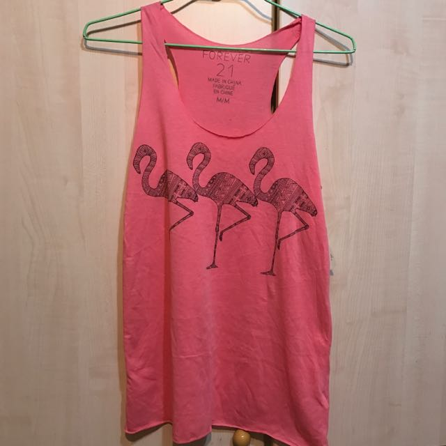 🌸forever21 粉紅背心 M號