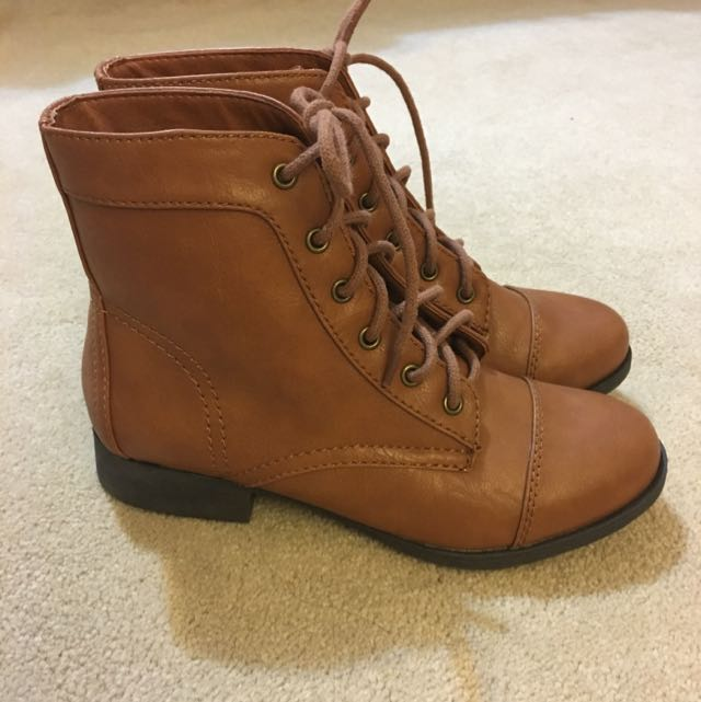 PRICE DROP Forever21 Brown Booties