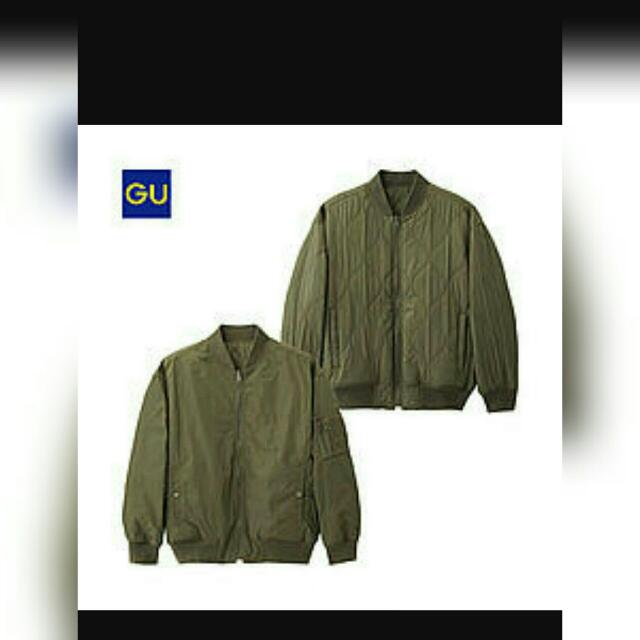 GU飛行外套黑色(雙面皆可穿)