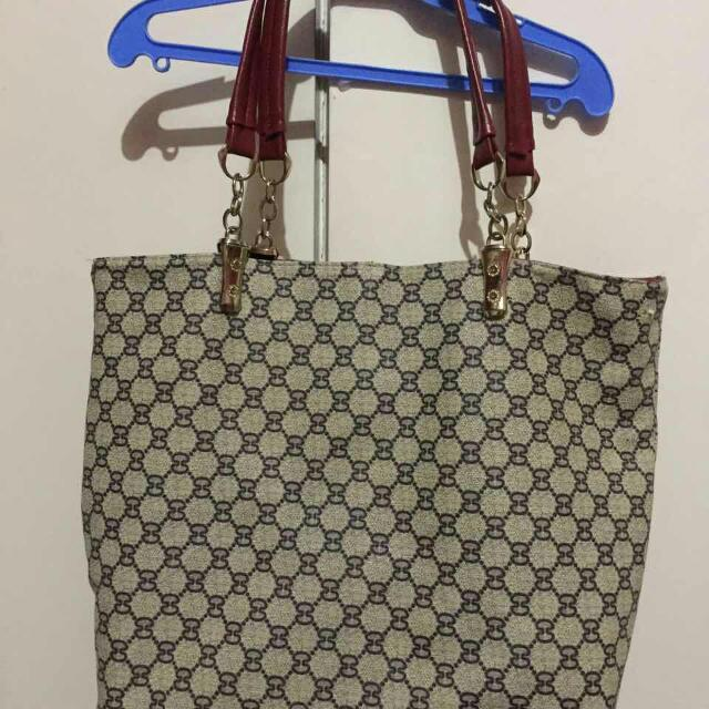 Gucci Class A Bag Reversible