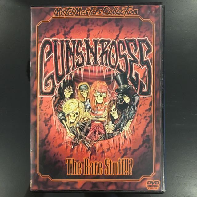 GUNS N ROSES THE RARE STUFF!!? BOOTLEG DVD METALLICA QUEEN