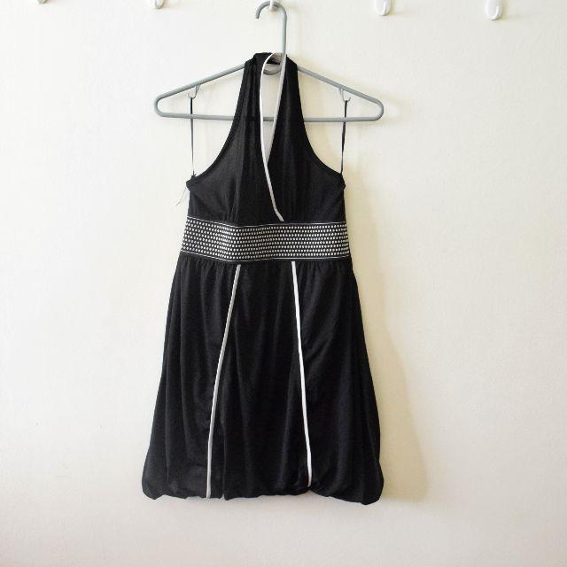 Halter Neck Bubble Dress