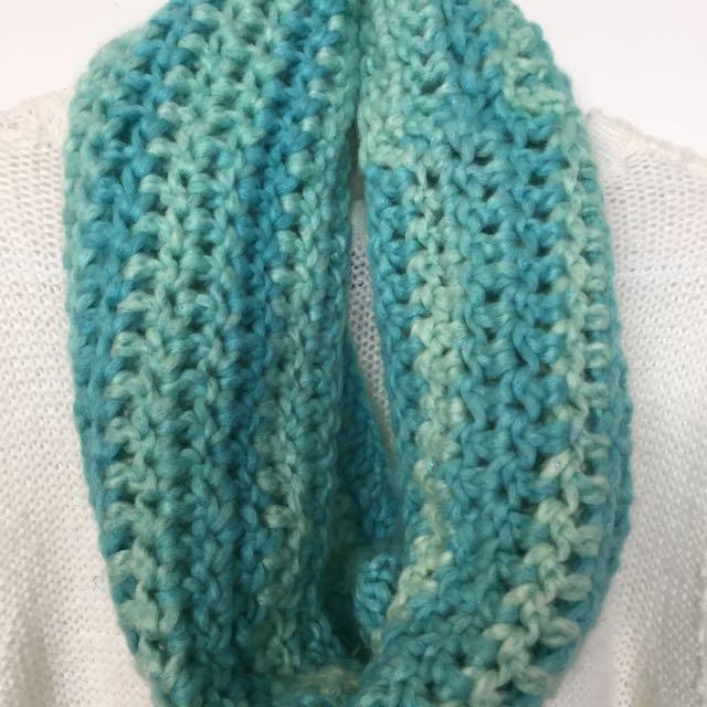 Hand-Crocheted cowl