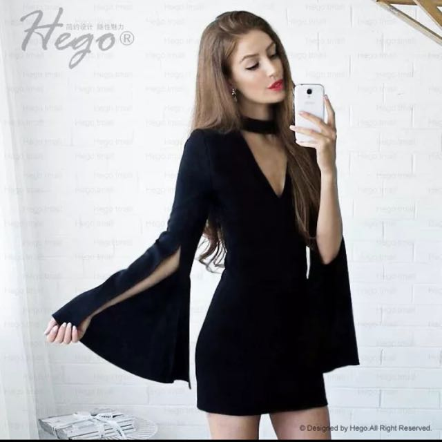 HEGO CHOCKER DRESS