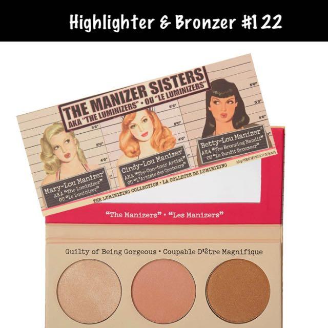 Highlighter Bronzer Palette