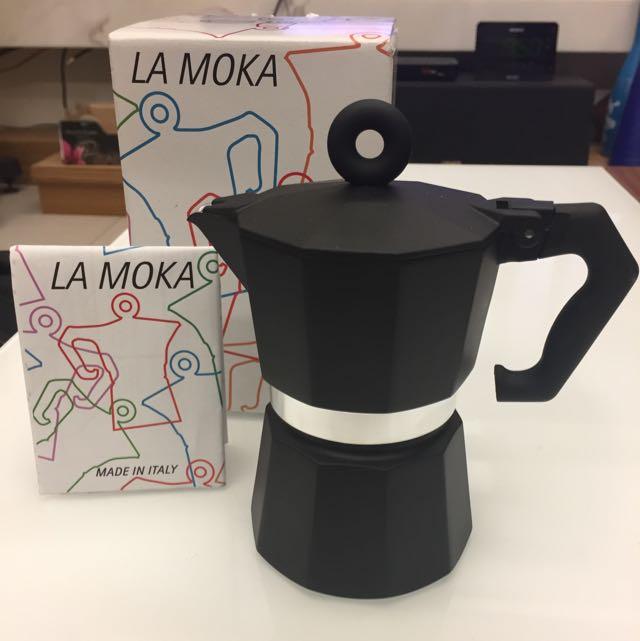 illy 伊利 LA MOKA 義大利製咖啡摩卡壺(3人份)