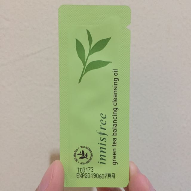 Innisfree Green Tea Balancing Cleansing Oil
