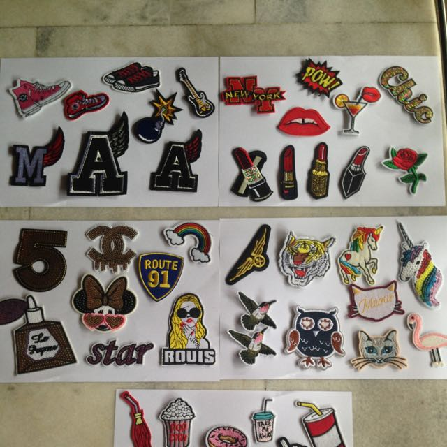 Iron Patches Rm5