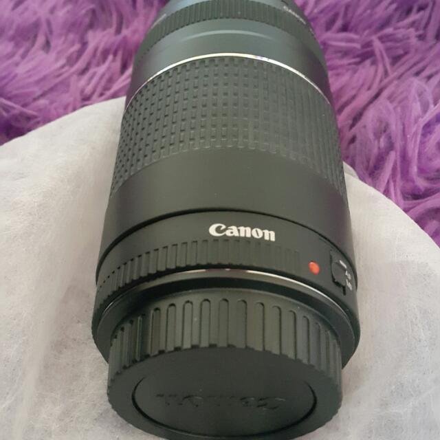 Isr Canon Lens 75-300mm Zoom Lens