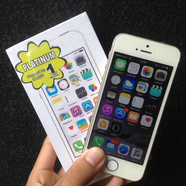 Jual Iphone 5s 16GB Gold MURAH!!! ddffb5443b