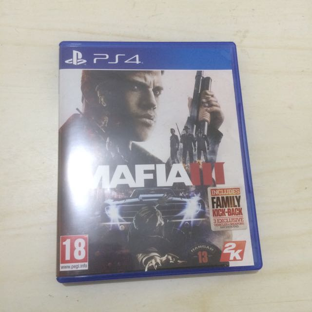 Kaset PS4 Mafia 3