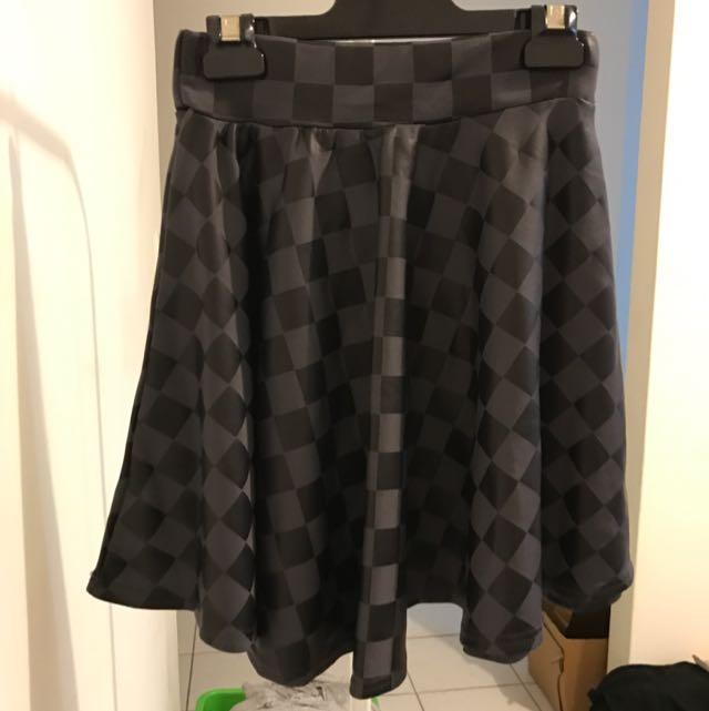 Leather Feel Skirt