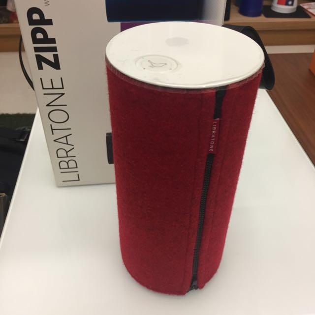 LIBRATONE ZIPP 丹麥無線 WiFi 可攜式音響(紅色)