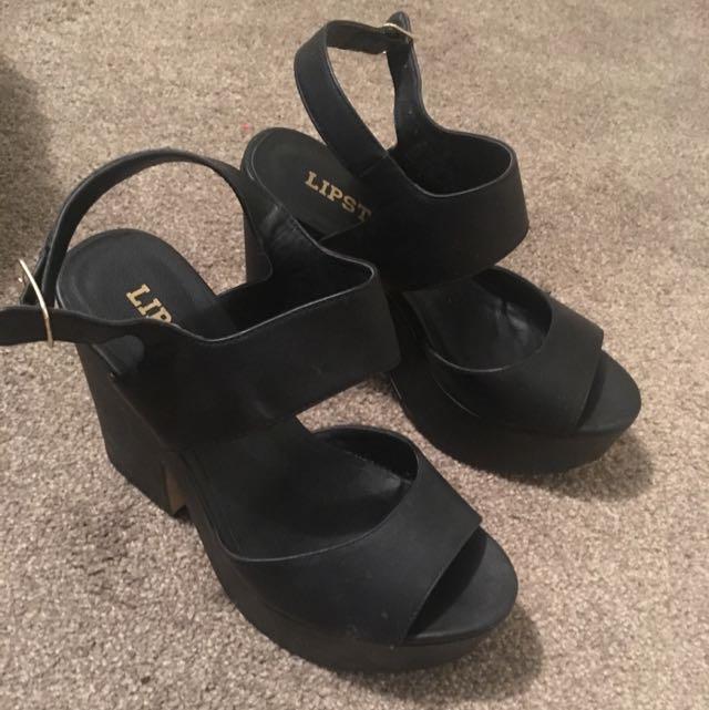 Lipstick Heels Size 6