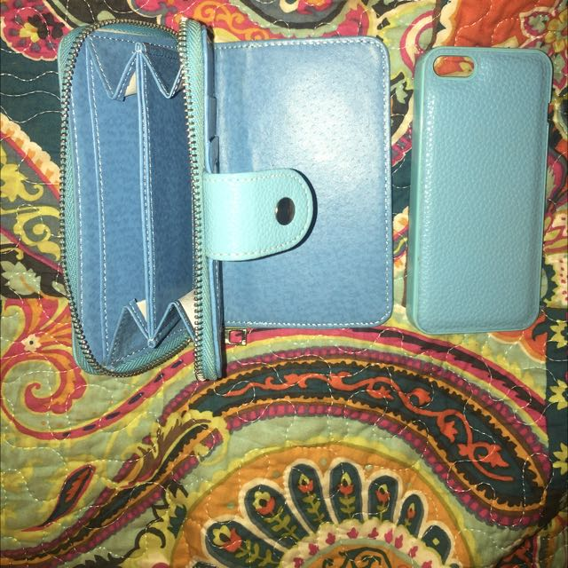 Magnetic Wallet And iPhone 5 Case