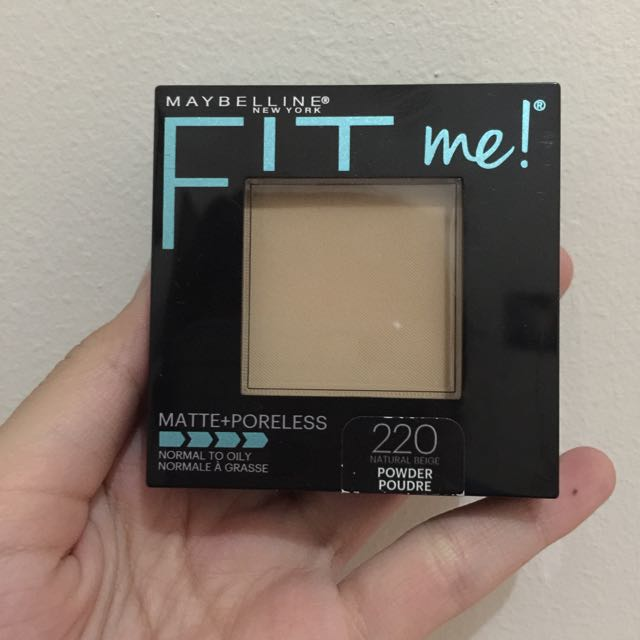 Maybeline Fit Me Matte+Poreless