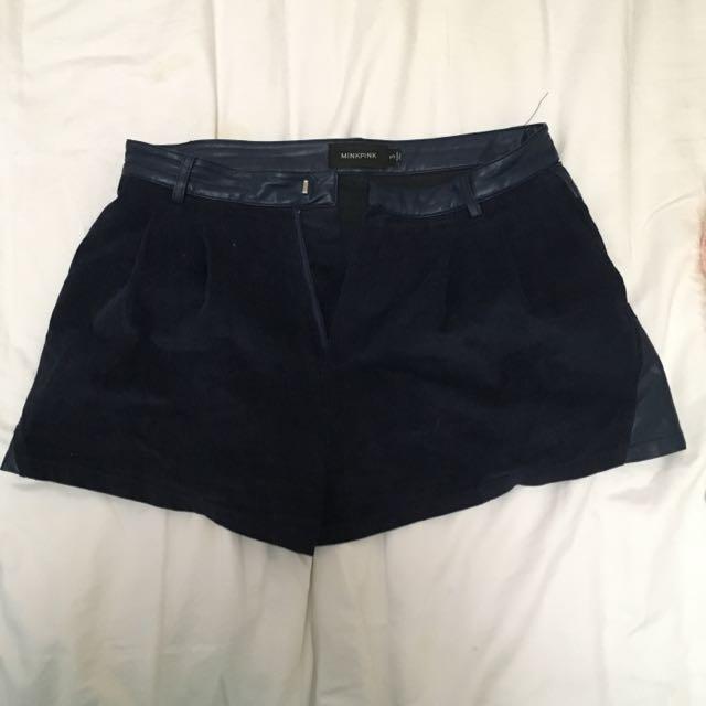 Mink Pink Corduroy Shorts