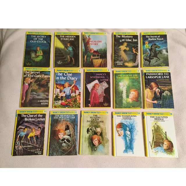 Nancy Drew Hardcover Books #1-36