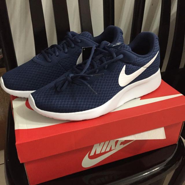 Nike TANJUN 812655-410深藍