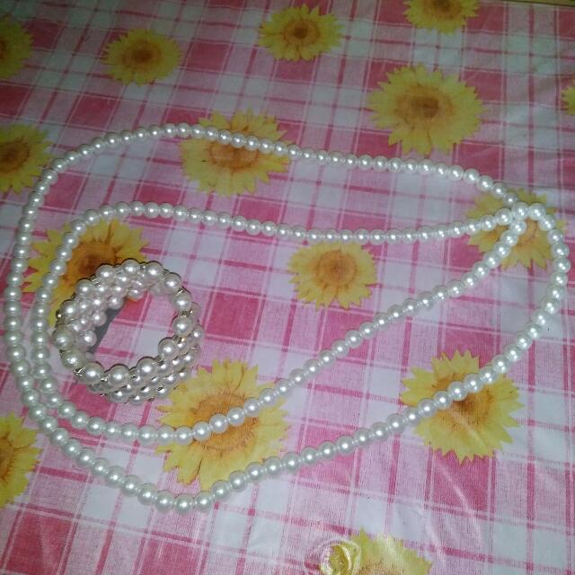 Pearl Bracelet / Necklace