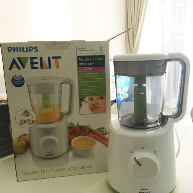 Pre-Loved Avent Baby Food Steamer And Blender