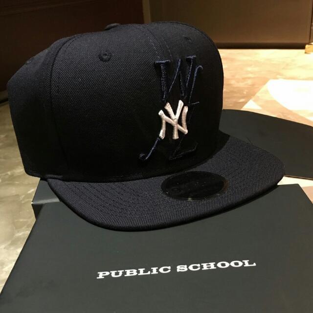 66ad907cf0c57 Public school WNL x Yankees Psny New Era Eugene Tong Chow Dao Yi ...