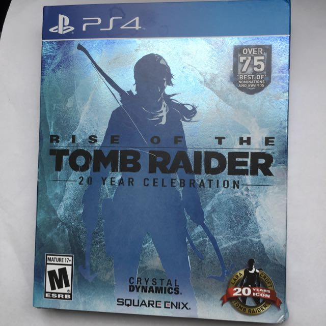 Rise Of Tomb Raider (PS4) 20 Year Collection