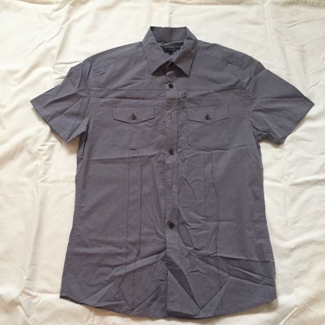 RW&Co MENS CASUAL SHIRT WITH POCKETS