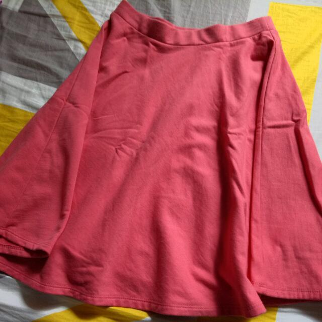Salmon Skater Skirt