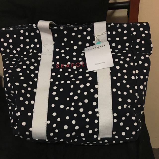 Seafolly Beach Bag And Towel Combo