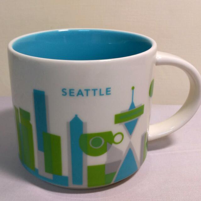 星巴克城市杯西雅圖Seattle