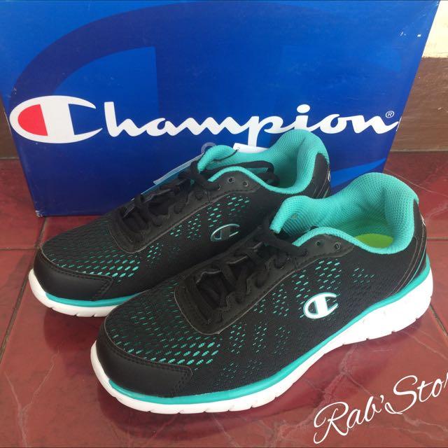 f3ba7e60bee Sepatu Champion Original Women Black