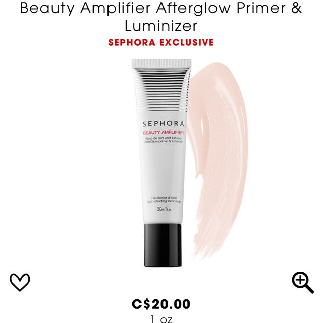 Sephora Collection After Glow Primer & Moisturizer