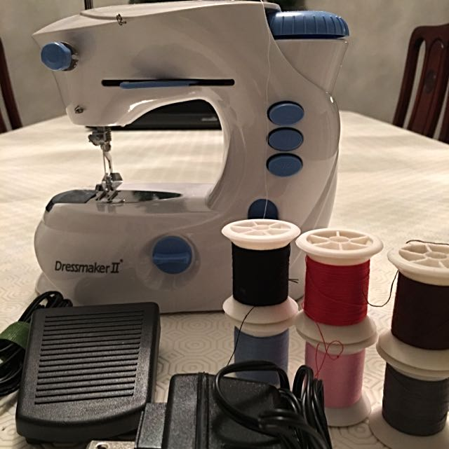 Sewing machine Including Pedal And Adapter