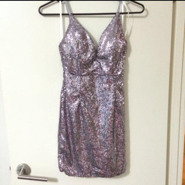 Showpo Sequin Mini Dress