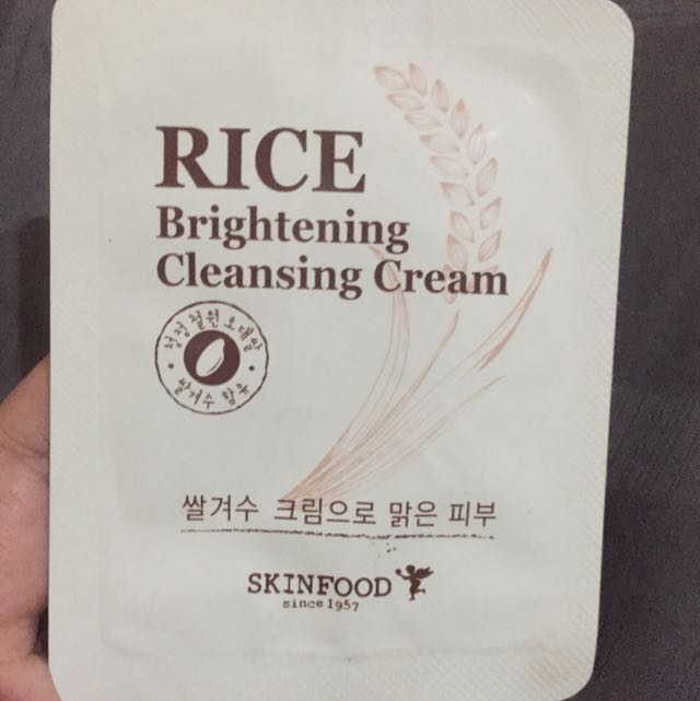 Skinfood Rice Brightening Cleansing Cream