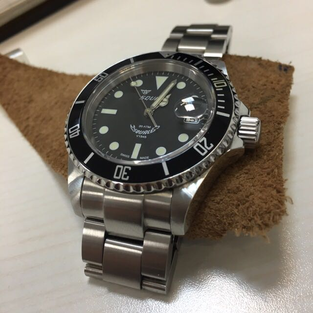 squale 1545 20 atmos maxi dial luxury watches on carousell