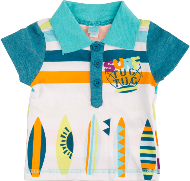 Surfwaves Polo T-Shirt for boys - size 2